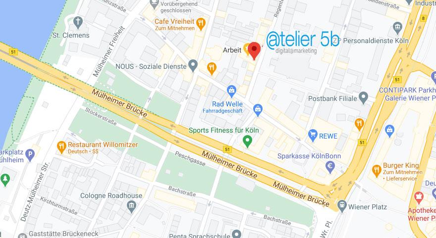 Atelier5b Stadtplan