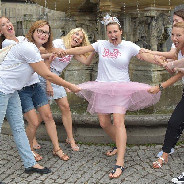 Frauen beim JGA Fotoshooting